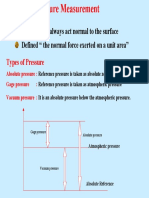 pressure measruement