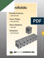 manifolds catalogue