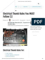 Electrical Thumb Rules You MUST Follow (Part 1).pdf