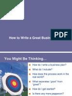 Write Plan