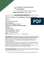 CalculNumriqueenIngnierieFinancireSyllabus