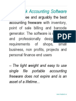 Shopbook Free Accounting Software User Guide