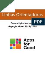 Linhas Orientadoras - AppsforGood 2017-2018