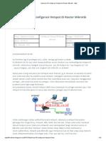 Jobsheet 10 Konfigurasi Hotspot Di Router Mikrotik - 4djie