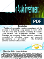 Education As An investment.pptx