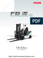 TCM FB 1.8-3.5 Ton Brochure