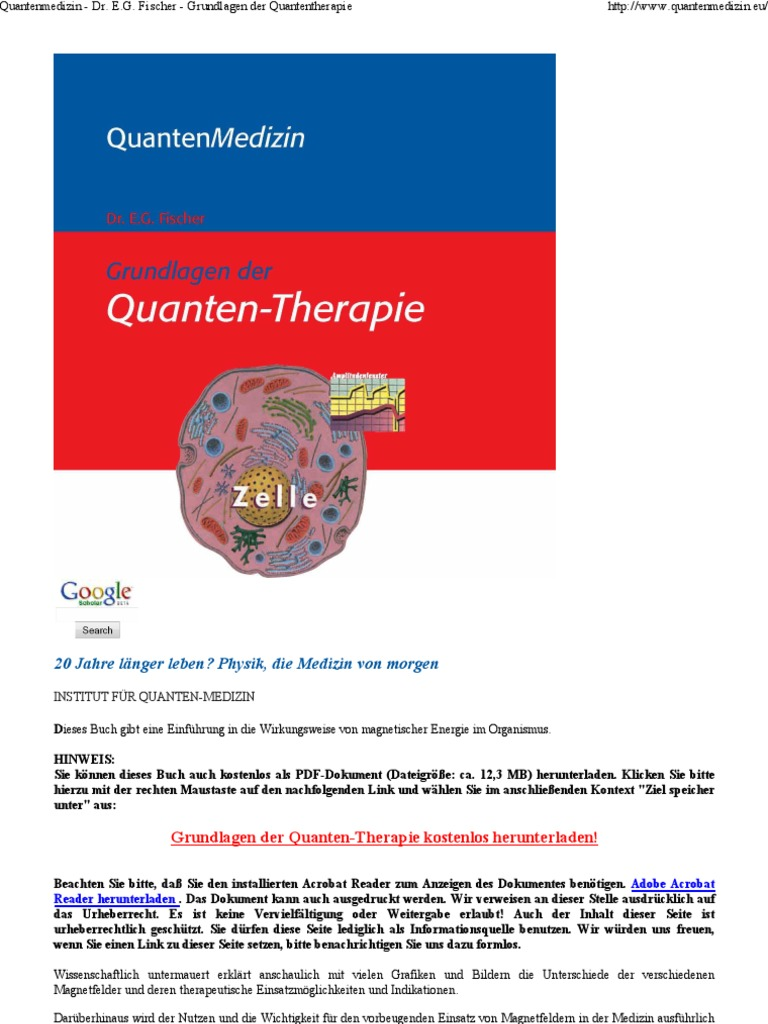 Quantenmedizin   Dr. E.G. F...   PDF