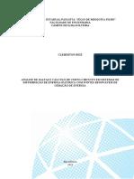 Análise de Faltas e Cálculo de Curto-Circuito em Sistemas de Distribuição de Energia Elétrica com Fontes Renováveis de Geração de Energia