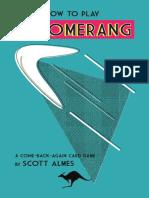Boomerang Rulebook