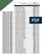 202001 Pil España Tarifa Pvp 2020
