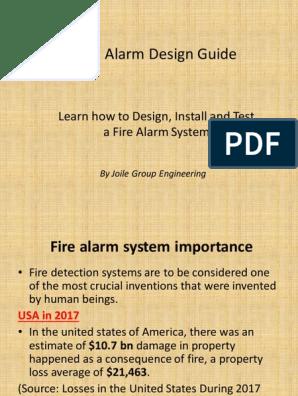 Fire Alarm System Desgin Fires System