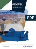 catálogo HENFEL hidrovariador-pt