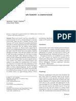 Detection of Blastocystis hominis a controversial human pathogen