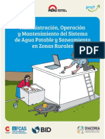 manual de operacion y mantenimiento de sistema de agua rural