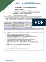 INFORME CULMINACION Nº 031-2014 , construccion de muro de contencion CH CHUYAPI