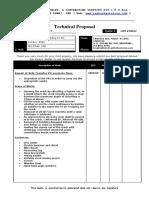 ADSB 20012 Tech. Propsal