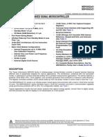 MSP430G2231 - Datasheet