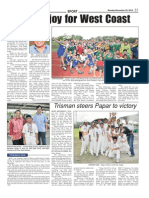 Sabah Times article-Cricket-Nov 2010-Ministry of Youth and Sports