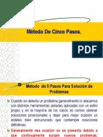 5 PASOS PARA SOLUCION DE PROBLEMAS