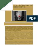 IMPORTANCIA DE LA ADMINISTRACION DE SULFATO FERROSO EN EL EMBARAZO