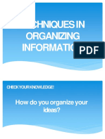 Competency 2-Selectinng and Organzing Information