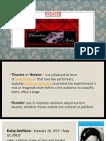 arts presentation