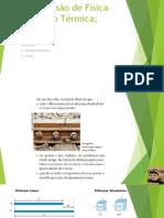 Revisão de Física  Dilatação Térmica.pptx