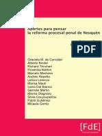 Aportes para pensar la reforma procesal penal de Neuquén