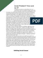 2. Defining Social Issues (1)