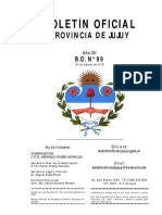 BOLETÍN OFICIAL Nº 99 – 30/08/19