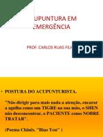 ACUPUNTURA EM EMERGÊNCIA