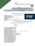 CRONOGRAMA VALORIZADO DE OBRA ACTUALIZADO A LA FECHA DE INICIO DE OBRA  REAJUSTADO