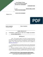 Colorado Senate Bill 20-065