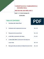 1  MARCO LEGAL Y CONCEPTUAL DE LA PLANEACIÓN DE LA REVISORÍA FISCAL
