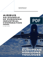 Airbus an Example of Industrial Cooperation