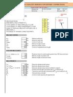 Weld Design Spreadsheet