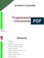 Tema 01. Introduccion a La Programacion Concurrente