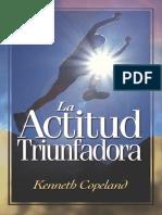 LA ACTITUD TRIUNFADORA