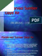 Pengantar kONSERVASI SDA 01