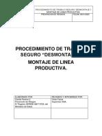 PROCEDIMIENTO PARA DESMONTAJE DE LINEA.docx