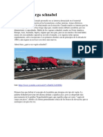 Vagón de carga schnabel