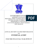 Annual Review 2018-19 after CGA  remarks