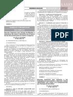 Decreto Supremo N° 006-2020-TR