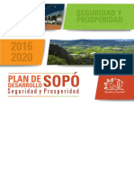 PLAN DE DESARROLLO Sopo 2016 - 2020