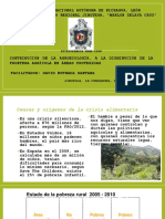 Contribución de la agroecología a la disminución de la frontera agrícola