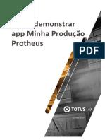 Demonstração app Minha Produção Protheus v02