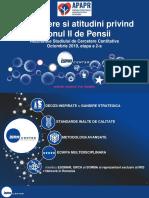 Sondaj privind Pilonul II de pensii - ISRA Center