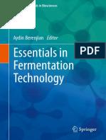 (Learning Materials in Biosciences) Aydin Berenjian - Essentials in Fermentation Technology-Springer International Publishing (2019).pdf