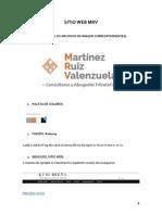 SITIO WEB MRV MAPEO