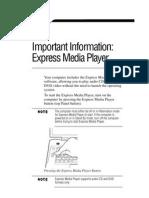 Toshiba_express Media Player